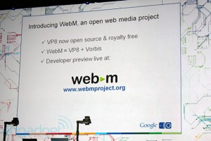 Kudos, WebM video!