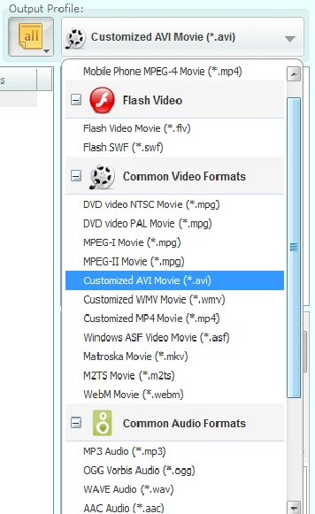 Video Files and Convert it to any Format