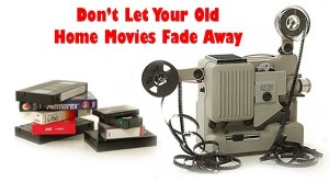 Restoring Old Home Videos &#8211; Making Slideshows