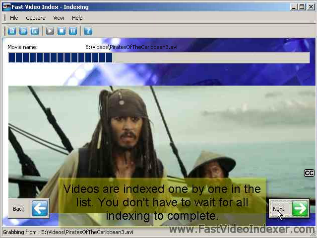How to Index your Videos using Video Capture Software?