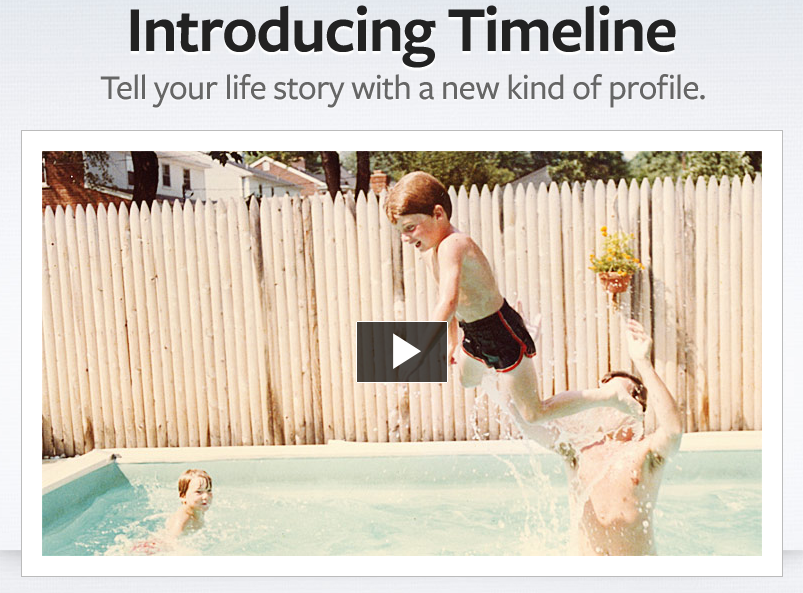 Introducing the New Feature on Facebook – Facebook Timeline